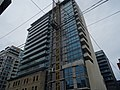 Details of the construction of a new highrise condo within the facade of the old National Hotel, 2015 07 17 (14).JPG - panoramio.jpg