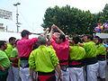 Diada castellera festes de primavera 2014 a Sant Feliu de Llobregat P1480290.jpg