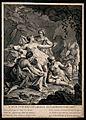 Diana (Artemis). Engraving by D. Sornique after J. Boulogne. Wellcome V0035798.jpg