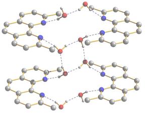 Neocuproine - Image: Dihydrate structure neocuproine