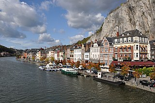 Meuse river in western Europe