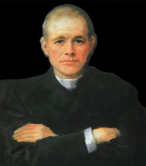 Patrick S. Dinneen - A portrait of Patrick Dinneen by John Butler Yeats.
