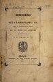 Discurso prononciado por el Doctor Don D. Villanueva y Solis, presidente del Ateneo Médico-quirúrgico Matritense, en la sesion de apertura ... el dia 5 de abril de 1841 (IA b30346952).pdf
