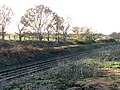 Disused headshunt south-east of Hethersett - geograph.org.uk - 1608262.jpg