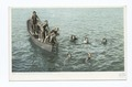 Diving for Coins, Santa Catalina, Calif (NYPL b12647398-67748).tiff