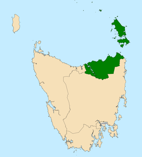 Division of Bass Australian federal electoral division