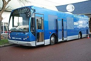 BBC Cymru Wales - BBC Cymru Wales outside broadcast bus, 2009