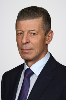 Dmitry Kozak Russian politician