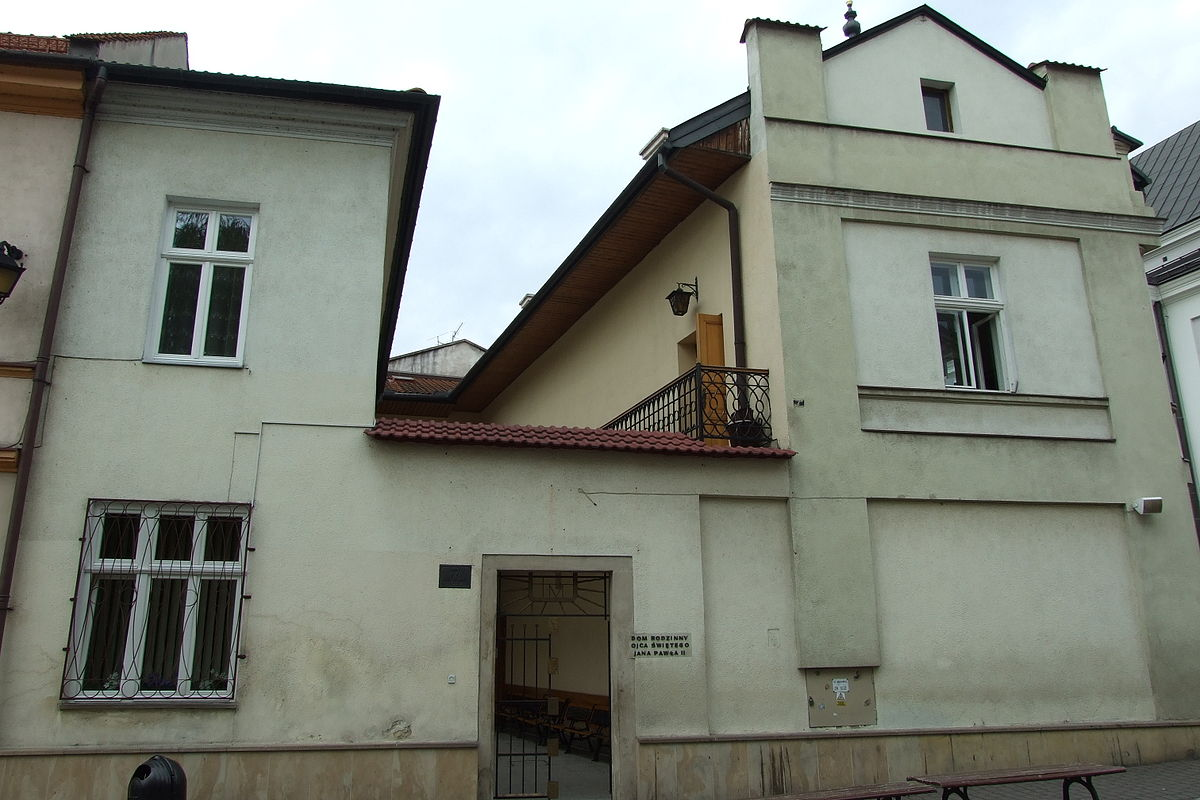 Holy Father John Paul II Family Home in Wadowice - Wikipedia