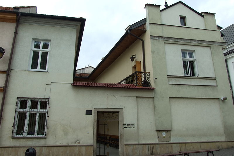 Archivo: Dom Rodzinny Ojca Świętego Jana Pawła II w Wadowicach3.JPG