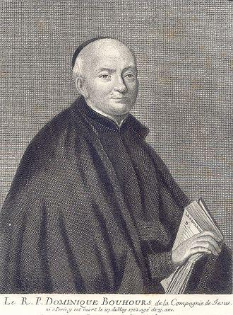 Dominique Bouhours - Reverend Dominique Bouhours S.J.