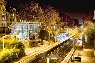 Westfalenstadion - Subway Station Möllerbrücke