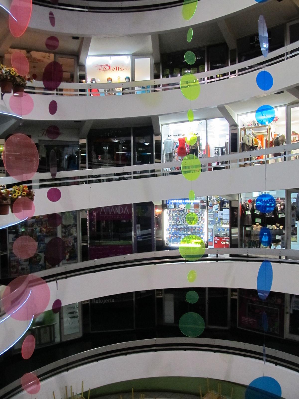 En el centro comercial - 3 2