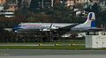 Douglas DC-6 landing at Innsbruck.jpg