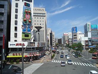 Nagano (city) - Downtown Nagano