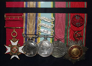 John Forrest (doctor) - Medals awarded to Forrest
