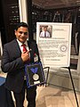 Dr Satendra Singh with the Henry Viscardi achievement award.jpg