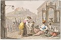 Drawing, Water color; A woman selling roasted corn, 1827 (CH 18329231).jpg