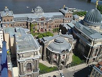 Dresden Academy of Fine Arts - Image: Dresden Überblick 8