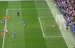 Didier Drogba scores from the penalty spot on ...