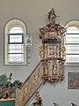 Drosendorf KIrche Kanzel PC313099 HDR.jpg