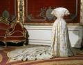 Drottning Lovisas kröningsklänning - Livrustkammaren - 47368.tif