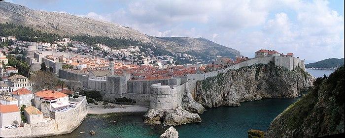 Walls Of Dubrovnik Wikipedia