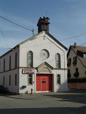 Ancienne synagogue.