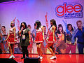 E3 2011 - Singing karaoke on the Glee stage (Konami) (5831346371).jpg