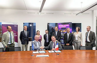 Safran - Image: ESO signs contract with Reosc for E ELT M4 shell mirrors
