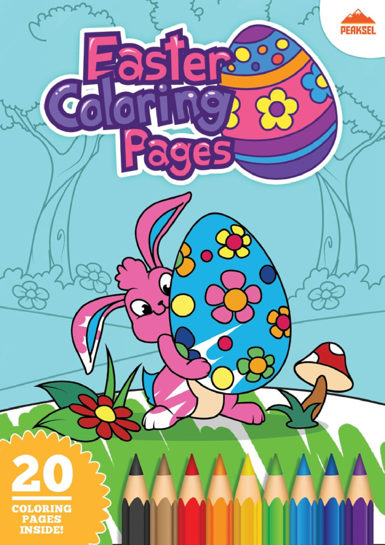 FileEaster Coloring Pages PDFpdf