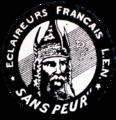 Eclaireurs Français Neutres greyscale.png
