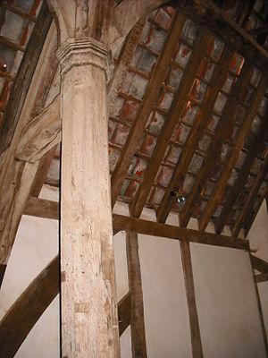 Museum of East Anglian Life - 14th-century Edgar's Farmouse, interior