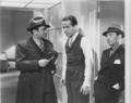 Edward G. Robinson, Humphrey Bogart, George E. Stone Bullets or Ballots 1936 Still.png