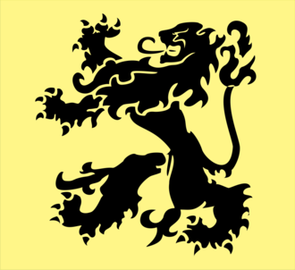 Flemish Movement - Flemish flag, as used by the Flemish Movement.