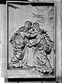 Eglise Notre-Dame - Bas-relief, La Visitation, situé dans la chapelle de l'Assomption - Dijon - Médiathèque de l'architecture et du patrimoine - APMH00020135.jpg