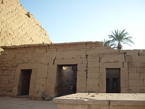 Precinct of Amun-Re - Bark shrines of Seti II