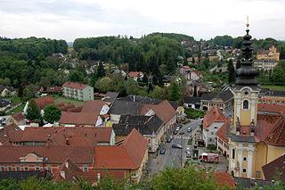 Ehrenhausen Place in Styria, Austria
