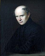 Portrait of Ferenc Kölcsey