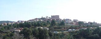 El Papiol - Image: El Papiol des de la Serra del Misser