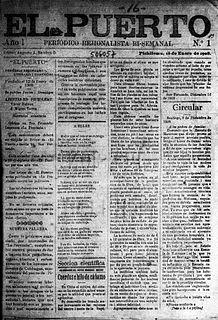 <i>El Puerto</i> (newspaper)