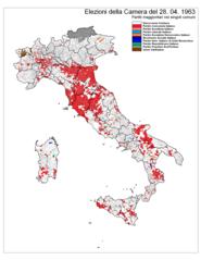 Elezioni politiche italiane del 1963