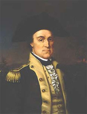 Battle of Kettle Creek - Lieutenant Colonel Elijah Clarke, portrait by Rembrandt Peale
