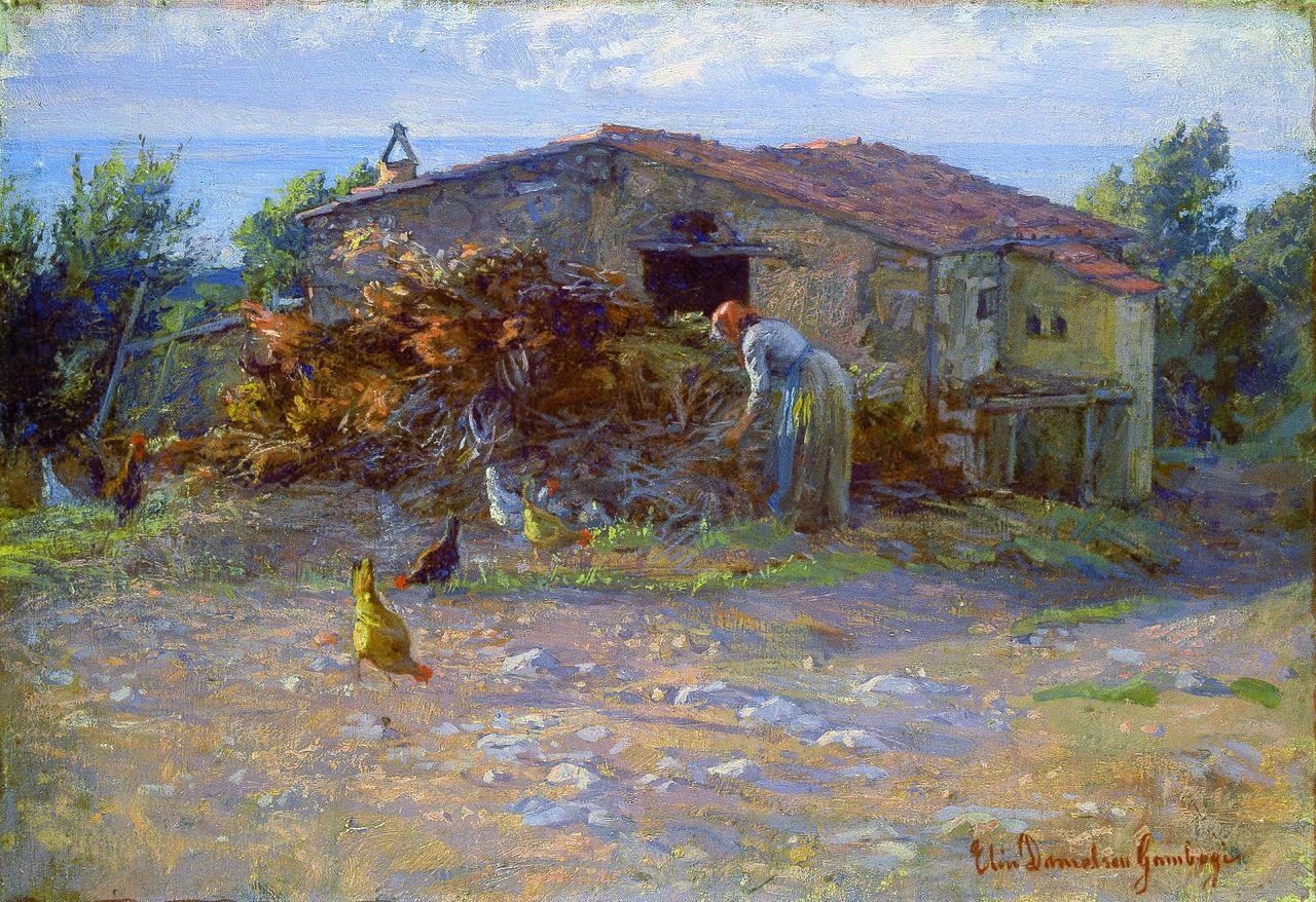 Elin Danielson-Gambogi - Shed in Antignano (1900).jpg