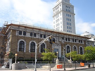Mid-Town Historic District (Elizabeth, New Jersey) - Image: Elizabeth Public Library