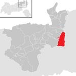 Ellmau in the KU.png district