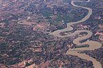 Embalse de Mequinenza from 36,000 feet (14014230469).jpg