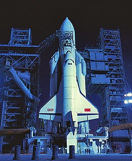<i>Buran</i> programme Soviet research project on spaceplanes
