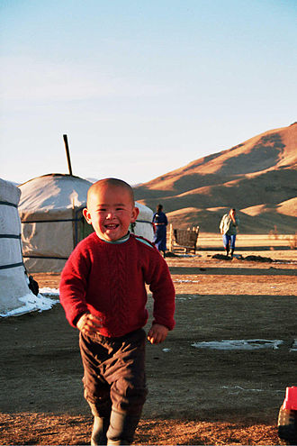 Culture of Mongolia - Mongolian child