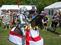 English Festival, St. George's Day, RIverside, Medway George.jpg